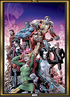 Topps Marvel Collect Card Trader Comic Book Day X-Force #1 Gold 1000cc Digital