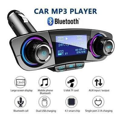 Bluetooth Car FM Transmitter MP3 Player USB Charger Hands Free Radio Adapter Kit