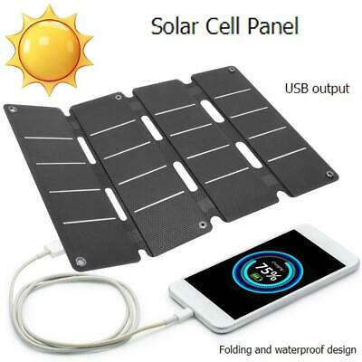 14W-5V Solar Panel Mono Cells Generator Phone 0-2.4A With Double USB Regulator