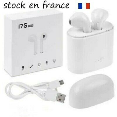 i7s Bluetooth Ecouteur Sans Fil TWS Type Airpods Apple Iphone Android Samsung
