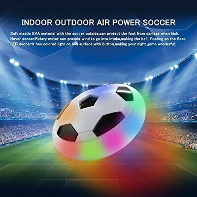 Indoor LED Hover Ball Air Power Floating Soccer Ball Light Up Football Disc