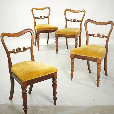 Antique Rosewood Dining Chairs (delivery available) C1850
