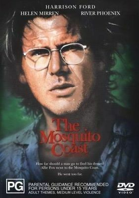 The Mosquito Coast (DVD, Region 4) very good condition  t24
