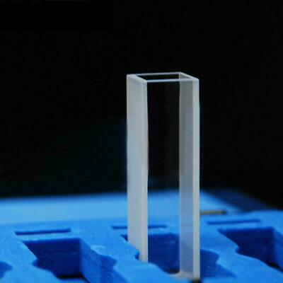4pcs 3.5ml glass Cuvettes Cuvette cell with Lid 10mm with 10MM Package Case K9G1