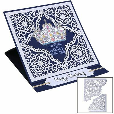 DIY Crafts Scrapbooking Card Making Cutting Dies Stencil Embossing Lace Frame