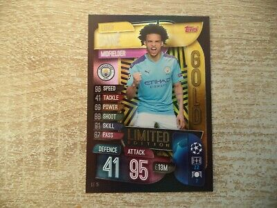 Topps Match Attax Champions League Sané Limited Edition LE15 Sane 2019 2020
