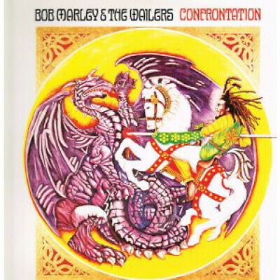 BOB MARLEY AND THE WAILERS Confrontation LP VINYL 10 Track Reissue (tgllp10) N