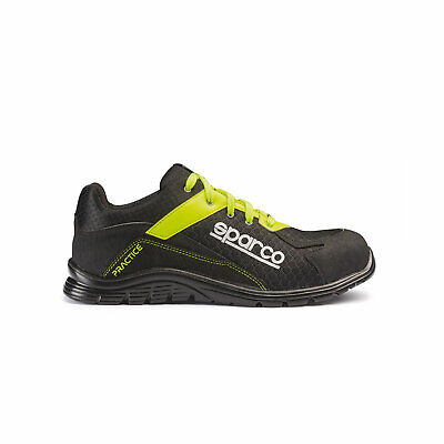 Sparco Practice Shoes black-yellow - Genuine - 45 (10.5 UK) (11 US)