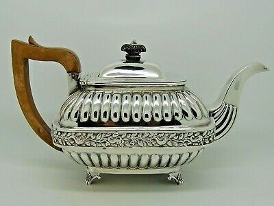 Antique Georgian Silver Teapot London 1809 - CH 640g QUALITY