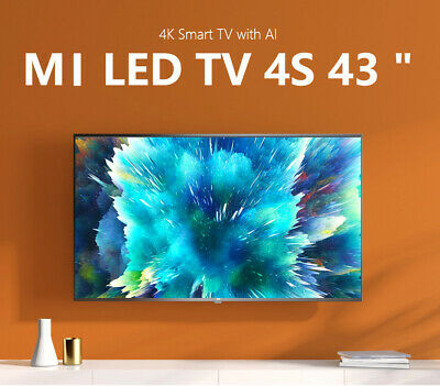 "【International Version】Xiaomi 43"" inch 4K AndroidTV UHD SMART Slim LED TV mi"