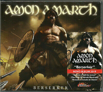 Berserker by Amon Amarth (Cd, jewel case with slipcase, Brazil, 2019) New Sealed