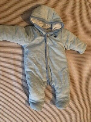 Baby M&S Quilted Snow Suite, 1mth