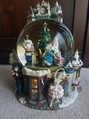 Kirkland Large Christmas Light Up Musical Snow Globe*Nutcracker Sugar Plum Fairy