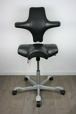 UK & EU DELIVERY | HAG Capisco 8106 | Sit / Stand chair | Saddle Seat | Leather