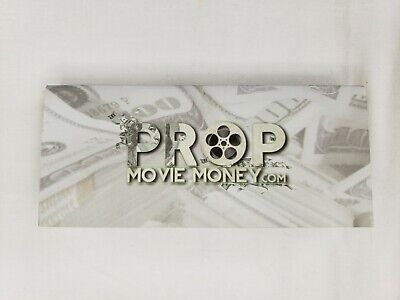 Prop Movie Money 100Pcs X 100$ For Movie Projects, Movies, Magic Tricks- Copy