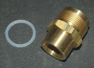 "Rochester 1/""-20x5//8/""18  Fuel Inlet Fitting 2/&4 BBL Carburetor OEM #7024281 Brass"