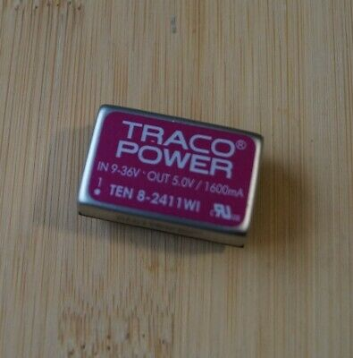TRACO POWER TEN8-2411WI Converter DC/DC 8W in9-36V out 5V /1600mA