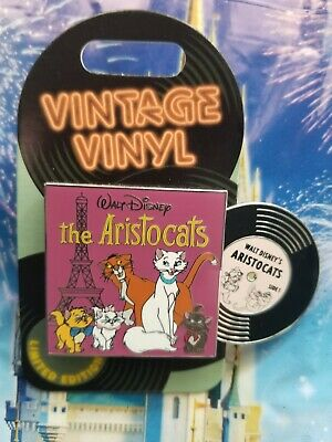 Disney The Aristocats Vintage Vinyl 2019 Limited Edition Pin