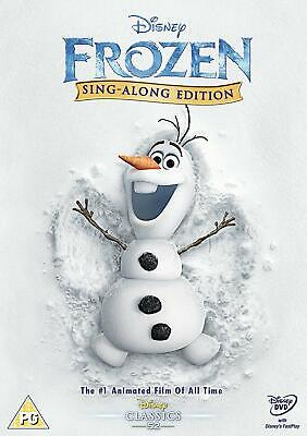 Frozen - Sing Along Edition - Dvd**New Sealed** Free Post