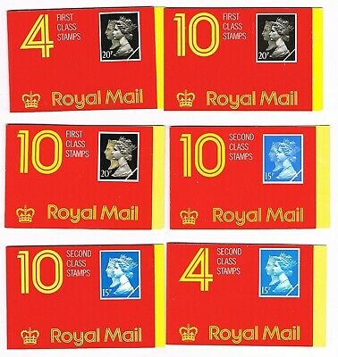 Great Britain 11 booklets, 50% face value. (stgb3)