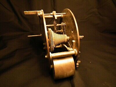 Early Fusee Movement, Unusual Round Plates, Possibly From Barograph.