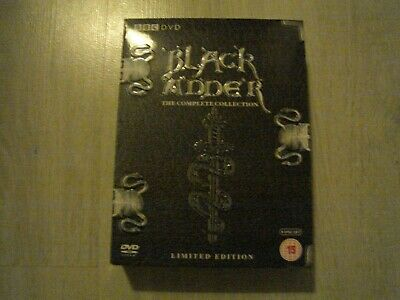 ( Black Adder The Complete Collection Limited Edition Boxset )  - Dvd Set