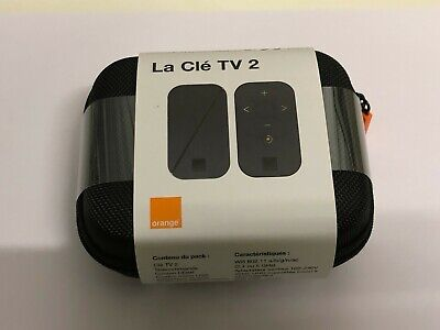 La Cle Tv 2 Uhd Orange  ( Nouveau Model ! 2019)