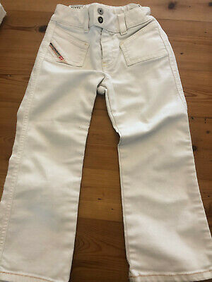 Diesel JEANS off white girls  trousers - 3 years old