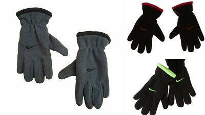 authentic quality wide range reputable site NIKE BOYS YOUTH Fleece Winter Gloves Black, Anthracite, Red Size 8 ...