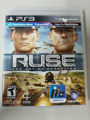 R.U.S.E The Art of Deception PS3 RUSE New Sealed