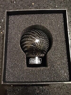 EPMAN Carbon Fibre Gear Knob Corsa Astra Fiesta Civic MINI Clio - UK SELLER!