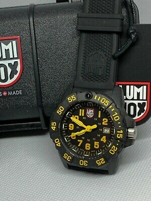 Luminox 3505 Series Navy Seal Black and Yellow Dial Men's Watch NEW IN BOX