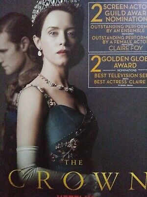 THE CROWN Season 2 Netflix Series For Your Consideration  -DVD Set