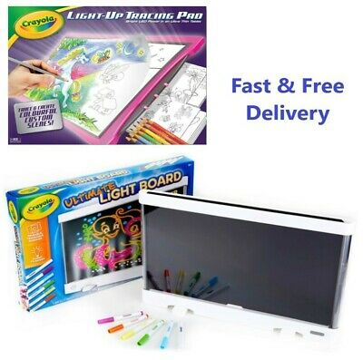 Crayola Ultimate Light Board / Light-Up Tracing Pad - Drawing, Art, Creativity