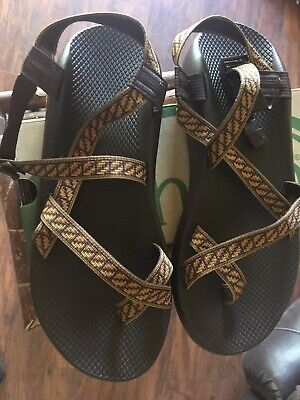 NEW Chaco Z//2® Classic Sport Sandals Size 14 47 Filmstrip Copper Brown $110