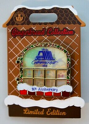 Disney 2019 Holiday Contemporary Resort Gingergread Fairy Godmother Le 3600 Pin