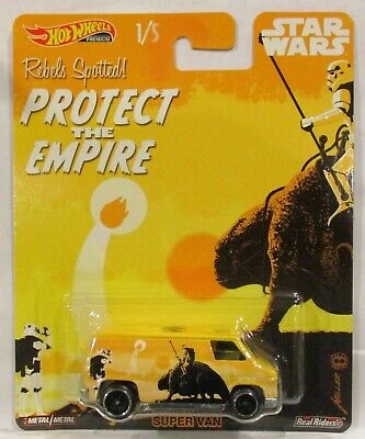 2019 Hot Wheels Pop Culture Star Wars Super Van Protect The Empire New Release