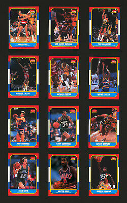 1986/1987 Fleer Basketball #17 Michael Cooper 86/87 Set Break Card
