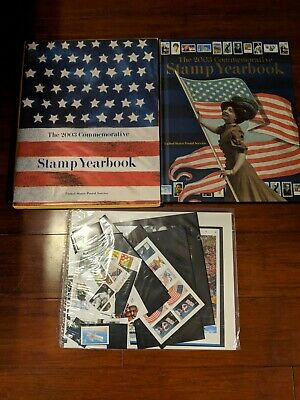 2003 USPS Commemorative STAMP YEARBOOK + Stamps (NEW)