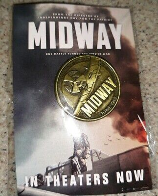 New Midway Movie Promo Pin
