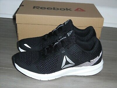 NEW Reebok Womens Sz 8.5 Endless Road Running Shoes Black White Sneakers CN6429