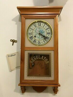 Waltham 31 Day Gong Chime Wall Clock CTx # 246