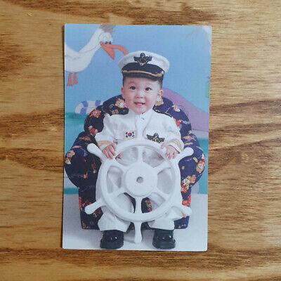 Yunho Official Photocard Ateez 1st Album Treasure EP.FIN Limited Edition ver