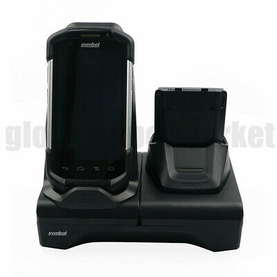 OEM Symbol TC70 TC75 2-Slot Charging Cradle Dock with USB Connector CRD-TC7X-SE2