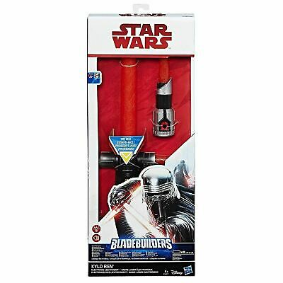 Star Wars The Last Jedi Bladebuilders Kylo Ren Electronic lightsaber Toy