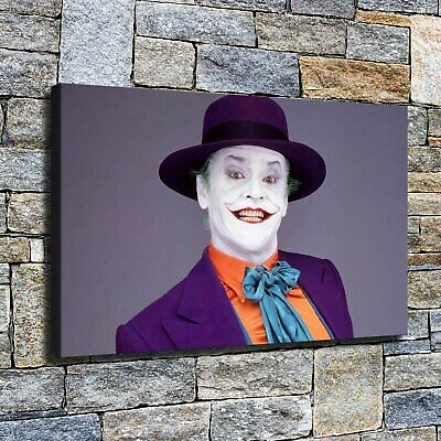"12""x18""Clown HD Canvas poster prints Painting Home Decor Picture Wall art photo"
