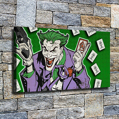 """12""""x22""""Clown HD Canvas poster prints Painting Home Decor Picture Wall art photo"""