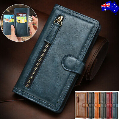 For iPhone 11 Pro Max 8/7/6s XR XS Leather Magnetic Wallet Card Case Flip Cover