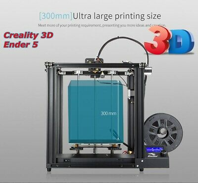 Creality 3D Ender 5 Imprimante 3D Printer Wood ABS TPU PLA 220 x 220 x 300mm FR