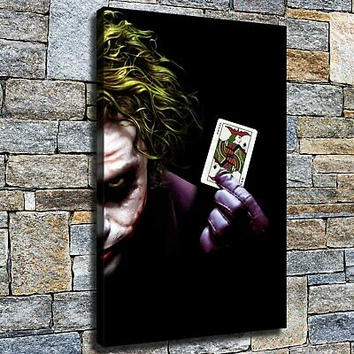 "12""x16""Clown HD Canvas poster prints Painting Home Decor Picture Wall art photo"